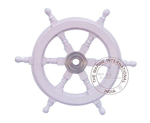 Whitewash Ship Wheel
