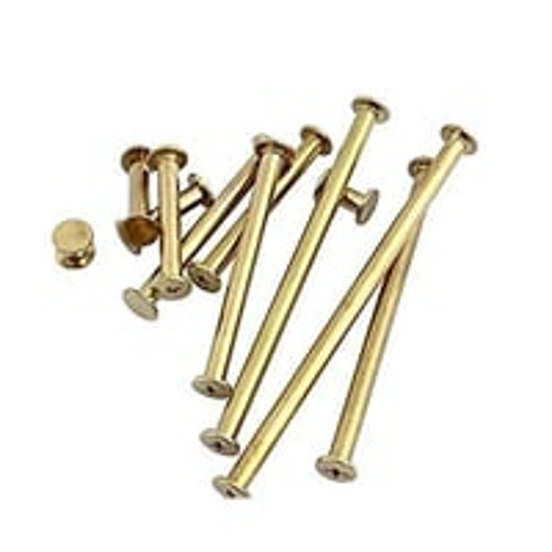 Brass File Screws