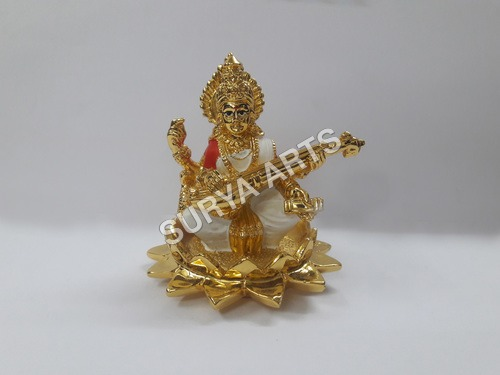 Gold Lakshmi Idol