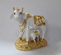 Kamadhenu Gold Statue