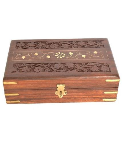 Desi Karigar Wooden Designer Jewellery Box