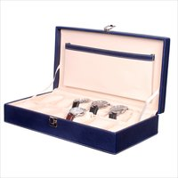 Fico Blue Watch Box for 12 watches