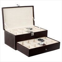 Hardcraft Brown Watch Boxes for 20 watches