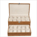 Hard Craft Brown Watch Boxes for 20 watches