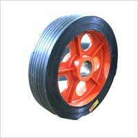 Heavy Duty C.I Bonded Wheel