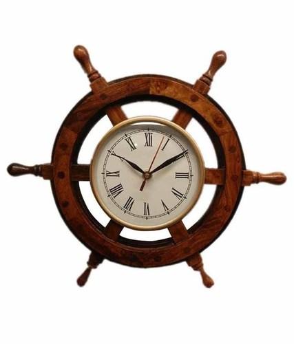 Desi Karigar Wheel Clock