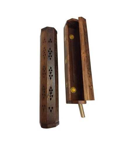 Desi Karigar Wooden Agarbatti Incense Stick Dhoop Batti Box