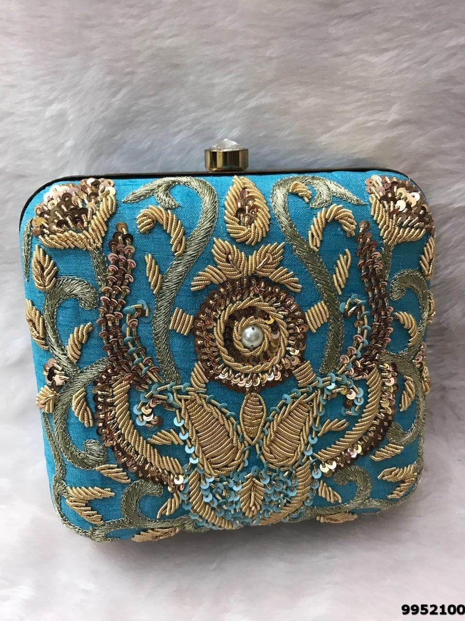 Beautiful Designer Box Clutch