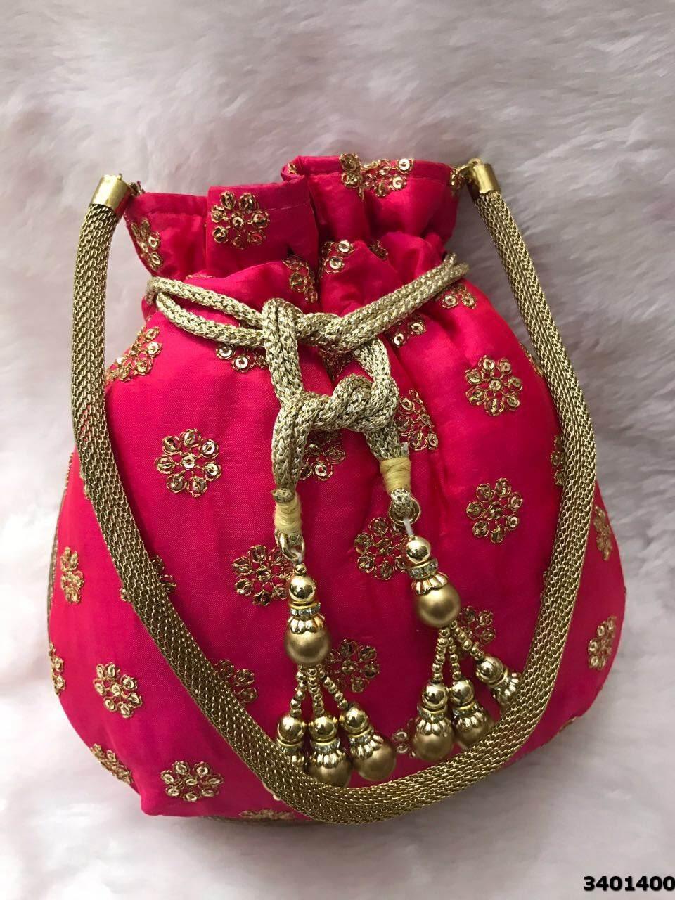 Latest Beautiful Designer Potli Bag