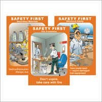 Safety First Posters