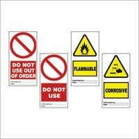 Temporary Hazard & Identification Tags