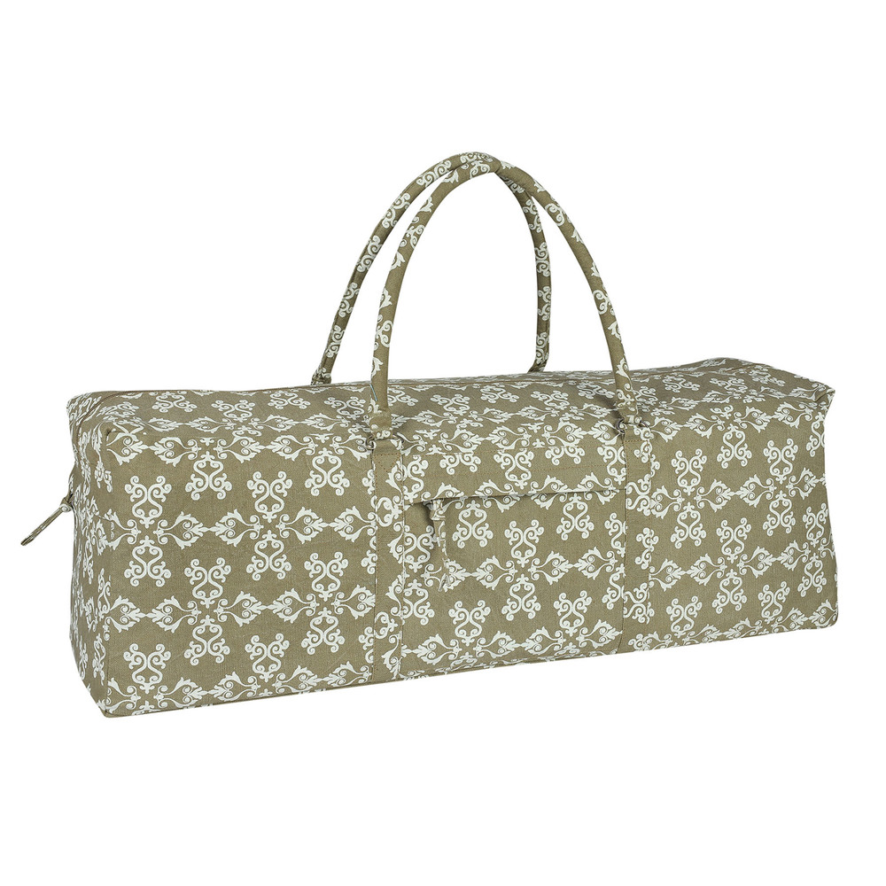 Yoga Kit Bag (Warm Grey) Printed & Stone Washed