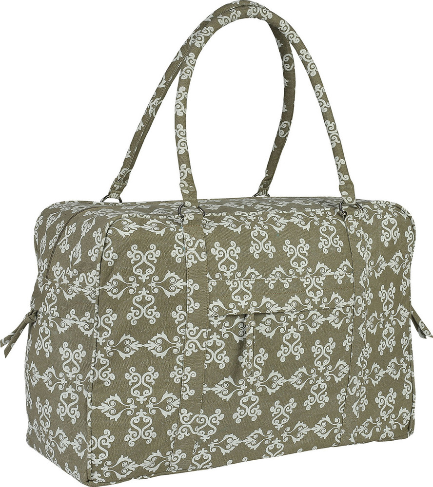 Yoga Kit Bag-Small (Warm Grey) Printed & Stone Washed