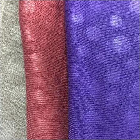 Fleece Embossed Raising Fabric