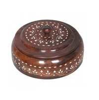 Desi Karigar white bead work utility box-medium 7