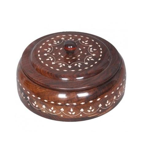 Desi Karigar white bead work utility box-large 8