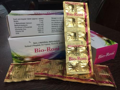 Biotin,L-methaylfolate,methaylcobalamin,pyridoxals'phosphate,zinc sulphate,vitamin d3