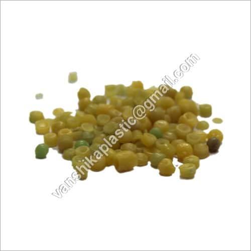 Yellow LLDPE Plastic Granules