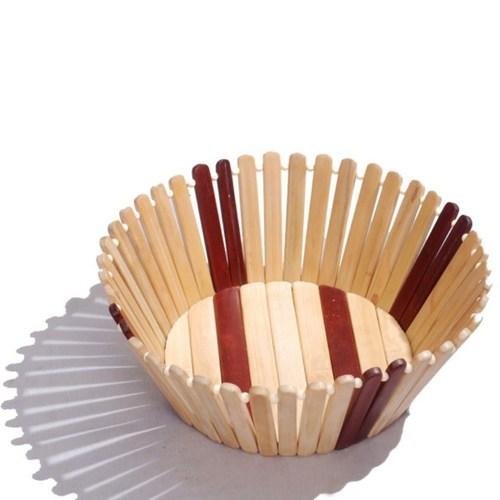 Desi Karigar round fruit basket