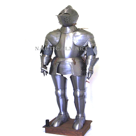 Medieval Knight Crusader Suit of Armor