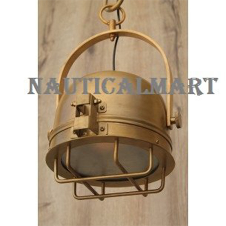 Brass Medium Pendant Light