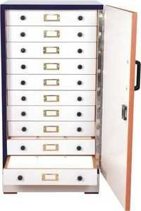 Wax Block cabinet
