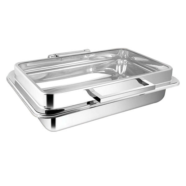 Rectangular Full Glass Chafer