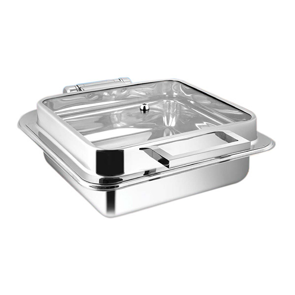 Square Full Glass Chafer