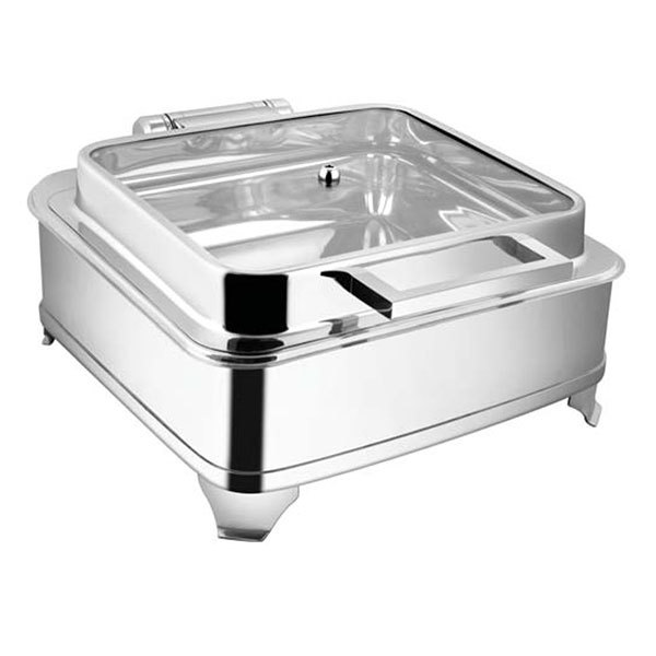 Full Glass Chafing Dish