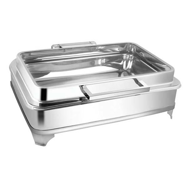 Rectangular Full Glass Chafer W-E E & Frame