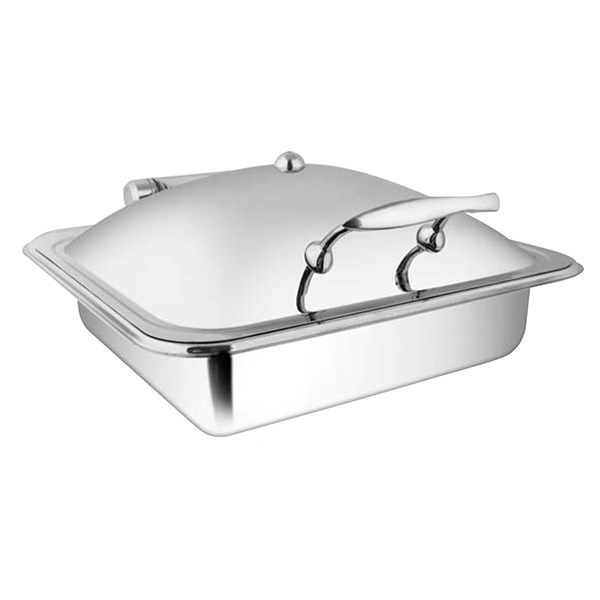 Square SS SS LID Chafer