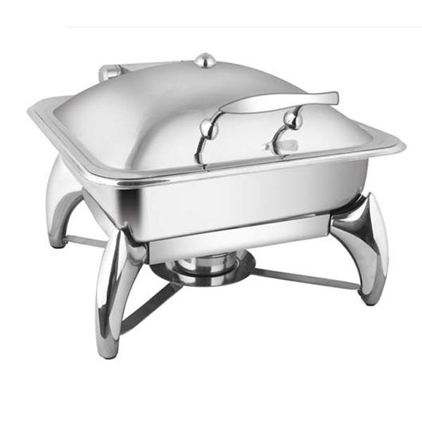 Square SS LID Chafer W - Smart Legs