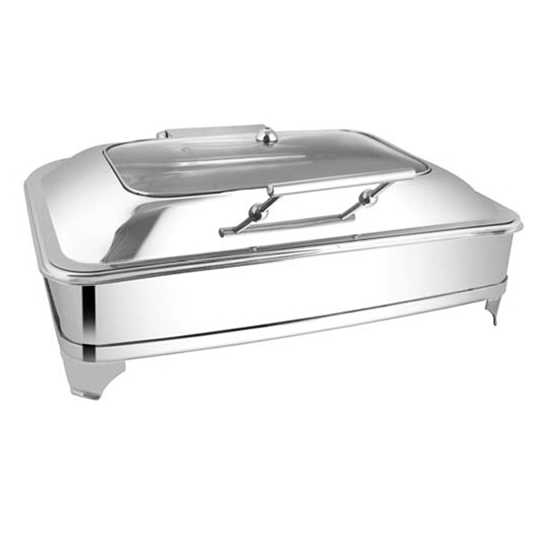 Rectangular Rect Glass Chafer