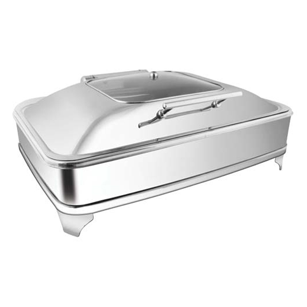 Rectangular SQ Glass Chafer