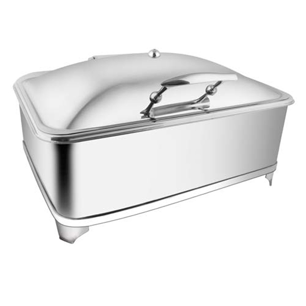 Rectangular SS SS LID Chafer W- Fuel Frame