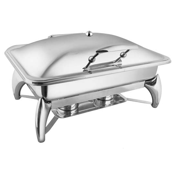 Rectangular SS SS LID Chafer W-Smart Legs