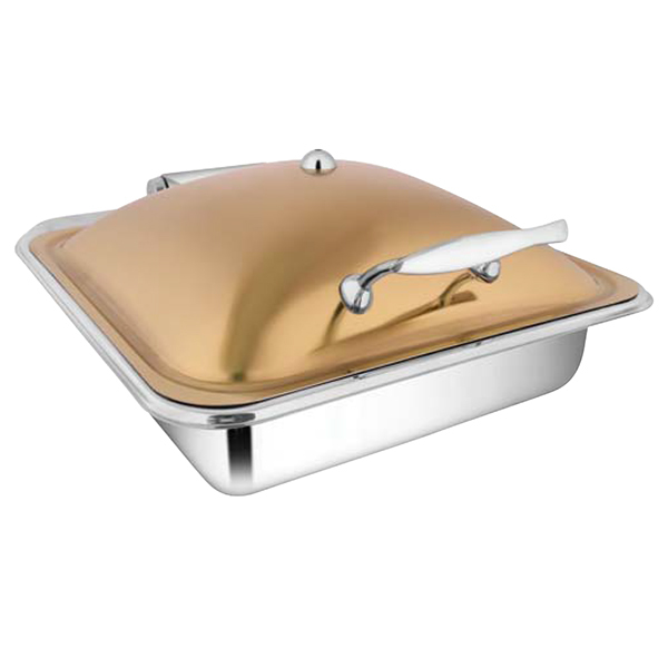 Square Rose Gold Chafer