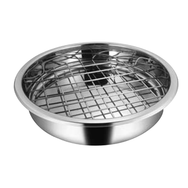 Round Roasting Tray With Rack