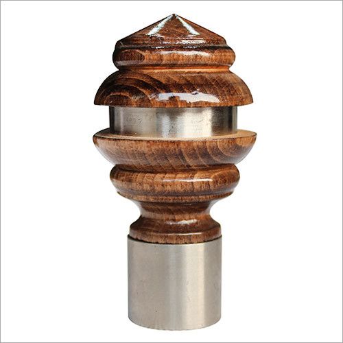 Curtain Wooden F- 2 Finial