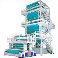 LLDPE Mono Layer Blown Film Extrusion Line