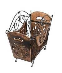 Desi Karigar Wooden Designer Magazine Stand