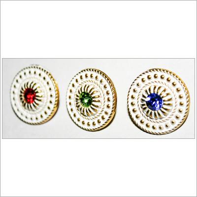 Designer Swarovski Button