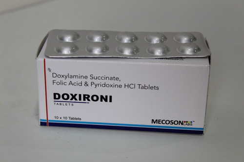 Doxylamine Folic Acid Tab