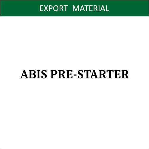 ABIS PRE-STARTER