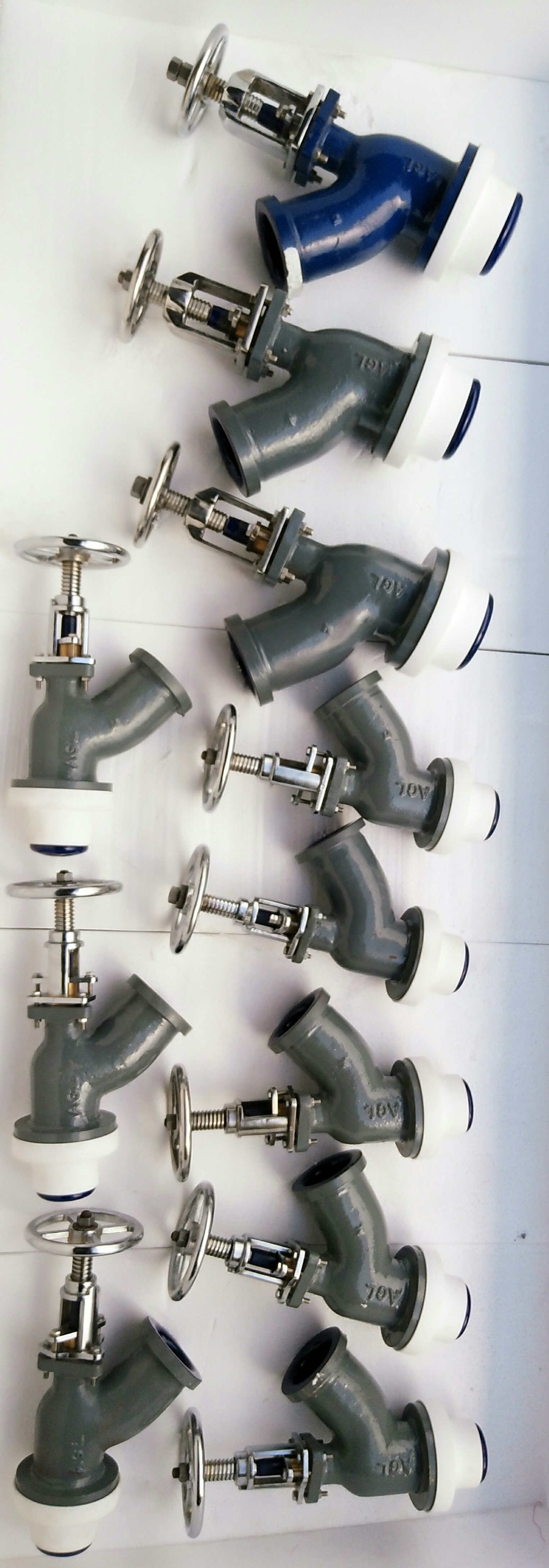 Glass Lined Reactor Valves