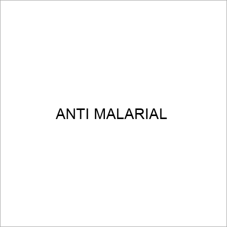Antimalarial Tablets