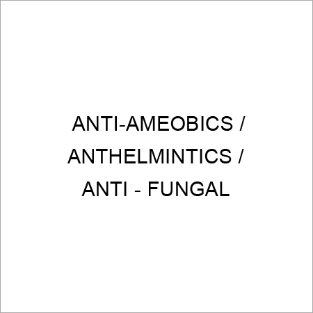 Antiamoebic, Anthelmintics And Antifungal Medicine