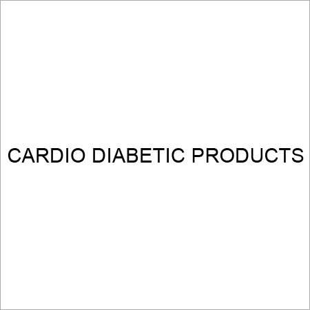 Cardio Diabetic Drugs