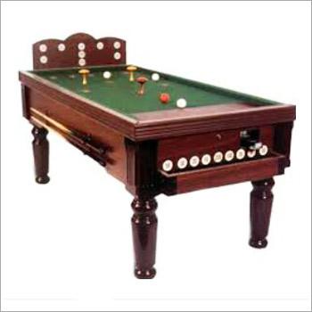 Solid Wooden Billiard Table
