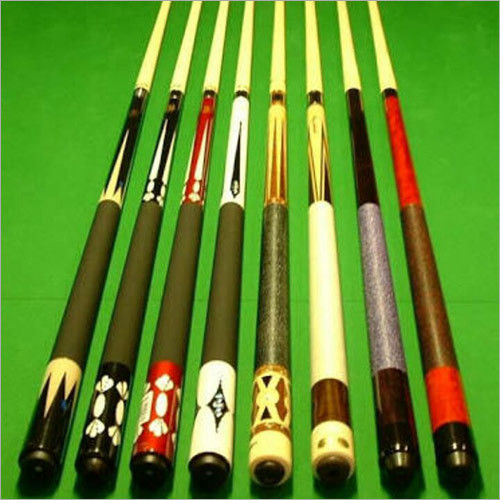 Snooker Table Cue Sticks